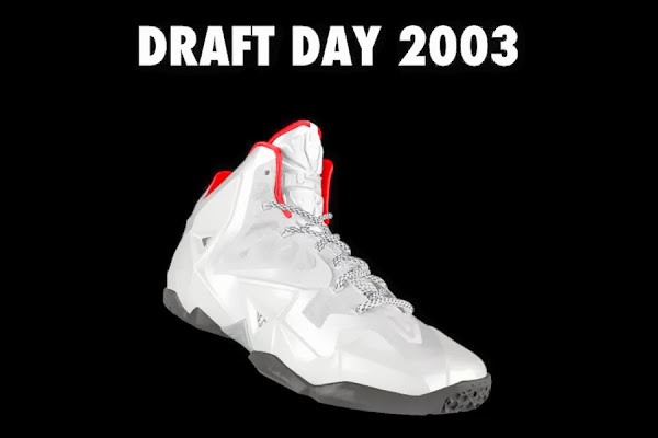 A Decade of Moments  NIKEiD LeBron XI 8220Draft Day8221