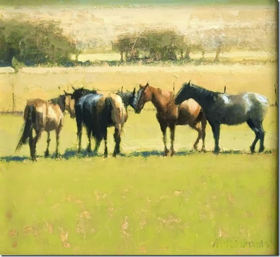Six_Autumn_Horses