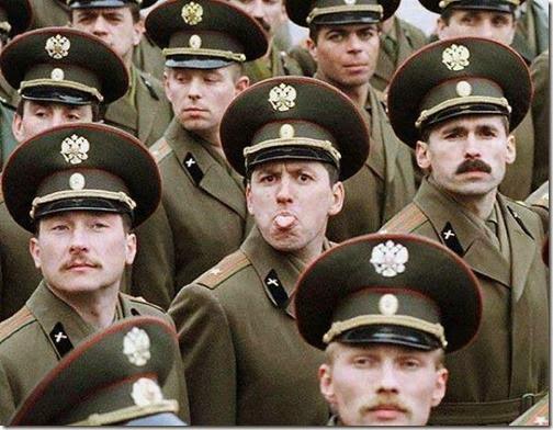 Fotos divertidas soldados