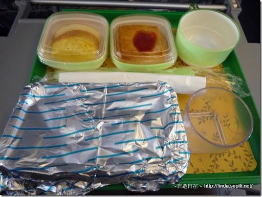 泰國曼谷芭達雅-飛機餐