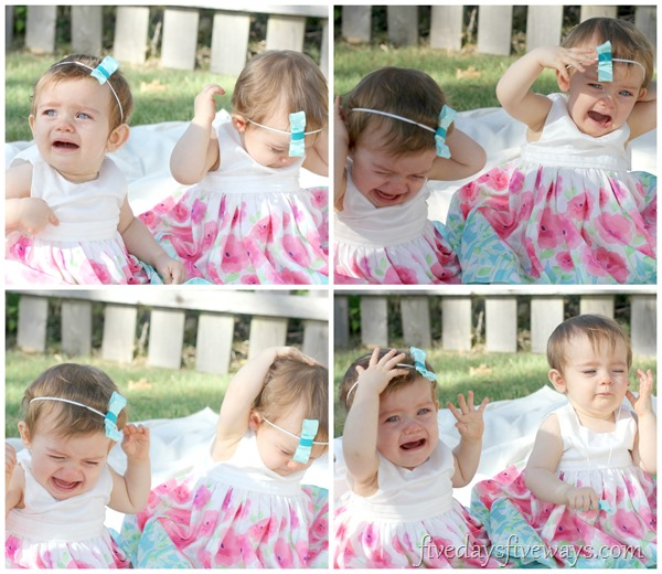 unhappy twins collage