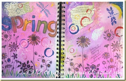Art Journal first pages