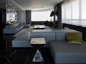 Muebles-de-diseño-departamento-de-lujo