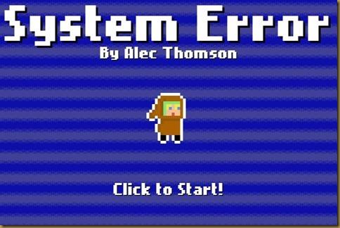 System Errorタイトル