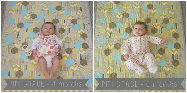 Pipi Grace 4 & 5 months