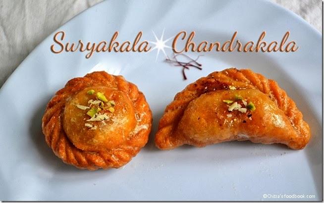 suryakala-chandrakala sweets