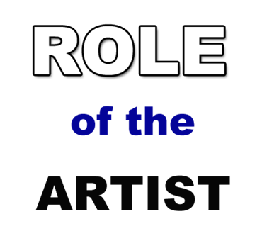 role of artist society