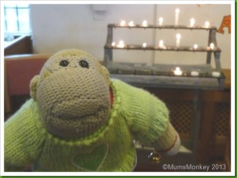 light a candle in church