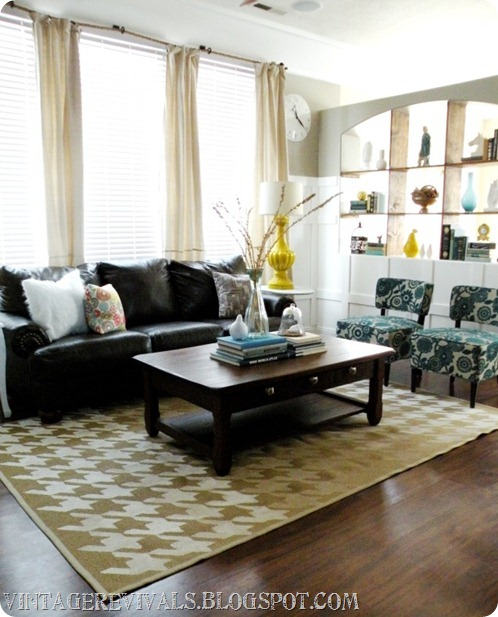 Vintage Revivals: Hailee's Living Room Makeover Reveal