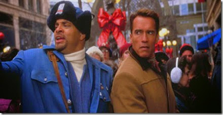 SinBad the Big Blue & the Original Big Guy Arnie in Jingle All The Way !