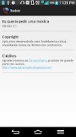 Screenshot of Alô Eu Queria Pedir Uma Música