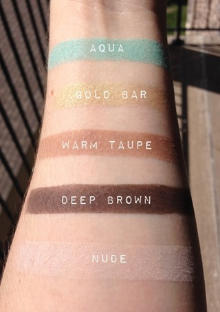 Anastasia Beverly Hills Maya Mia Palette Swatches with names