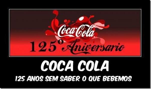 125 aniversário da Cola Cola