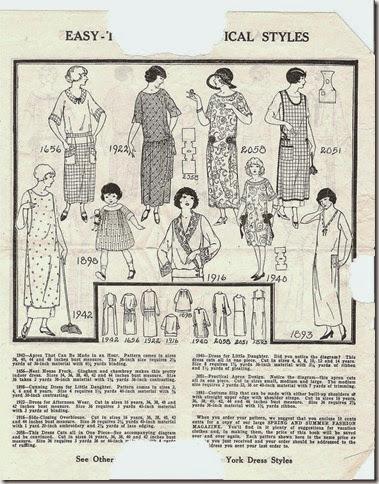 vintage patterns 002