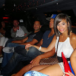 party crew on route in Vancouver, British Columbia, Canada