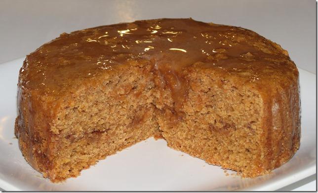 Sweet Potato Cake with Cinnamon Honey Glaze