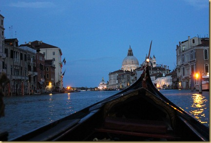 Evening gondola ride
