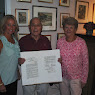 Somers WWII Veteran Martin Hirsch With Japanese Surrender Document