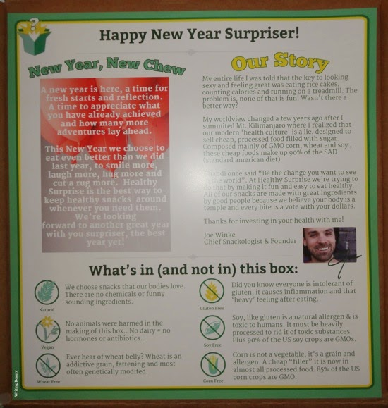 February 2015 Healthy Surprise Box