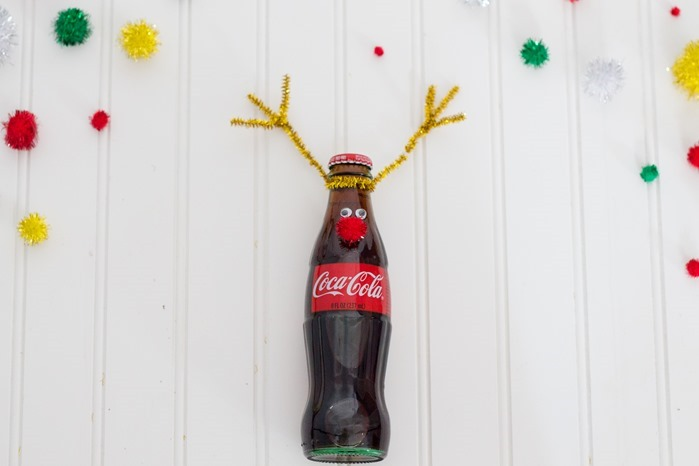 Christmas coke bottle reindeer #RealMagic #Ad #Cbias