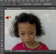 seleksi rambut dengan photoshop cs6