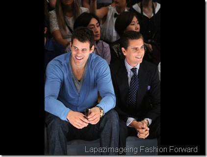 Kris Humphries and Scott Disick
