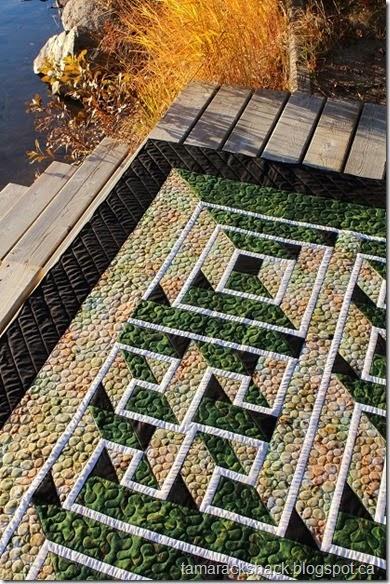 Tamarack Shack: Labyrinth Walk Quilt : labrynth quilt - Adamdwight.com