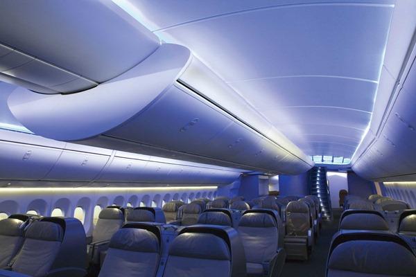 صور من داخل الطائرة الجامبو