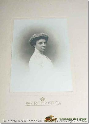 la Infanta María Teresa de Borbón y Habsburgo-Lorena