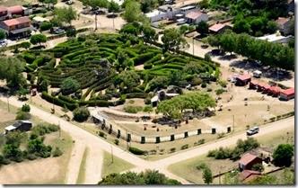 El Parque temático y laberinto de Las Toninas, un espacio para disfrutar en familia