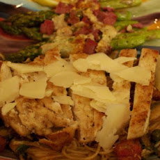 Capellini Alla Campagnola- Rustic Angel Hair Pasta & Chicken