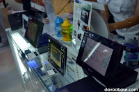 Sony digital photo frames on display at Sony Centre in Abreeza Mall