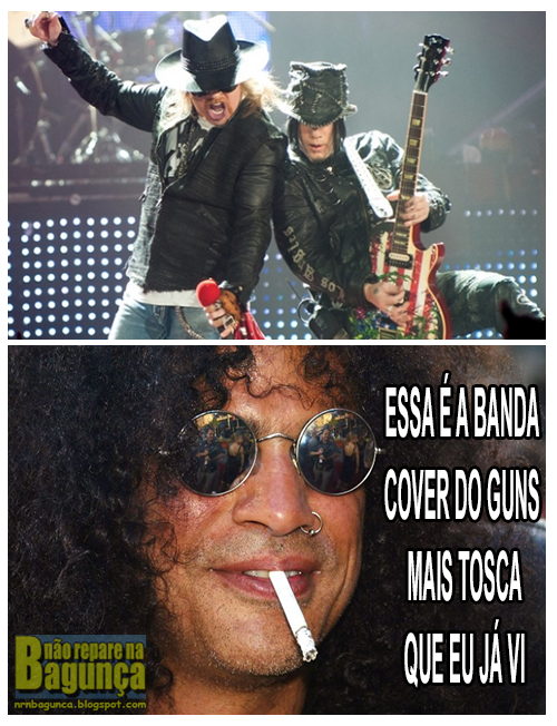 Guns and Roses 2013 vs. Slash