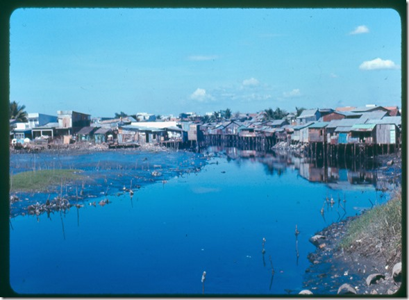 settlement on saigon slough 1967