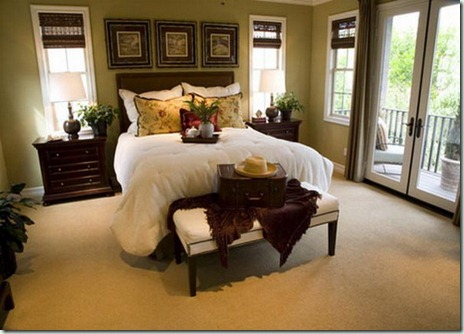 Olive-Green-and-Butter-Yellow-Retro-Style-Bedroom-Decoration-Ideas_15