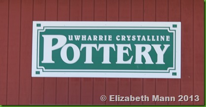 UWarrie Crystallince pottery sign