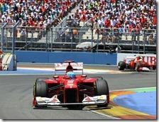Alonso ha vinto il gran premio d'Europa 2012