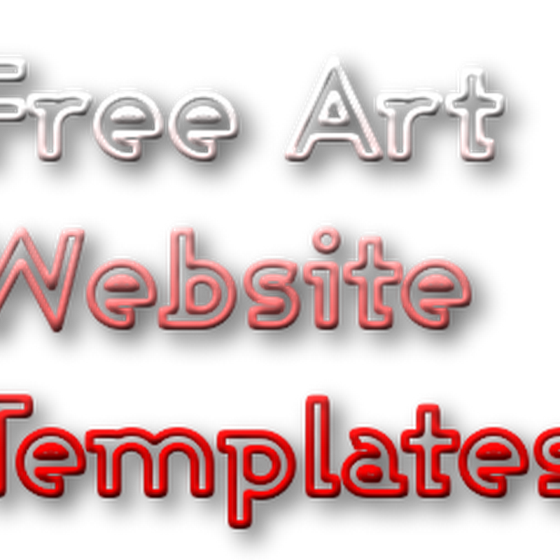 Free Art Templates for Designing an Online Portfolio Website