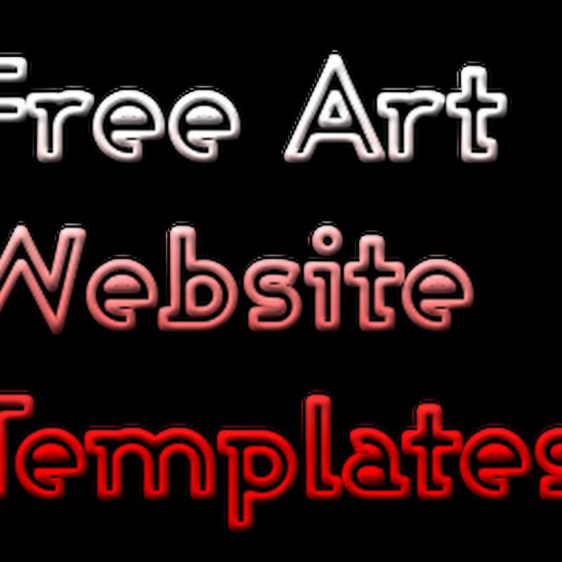 Free Art Templates for Designing an Online Portfolio Website