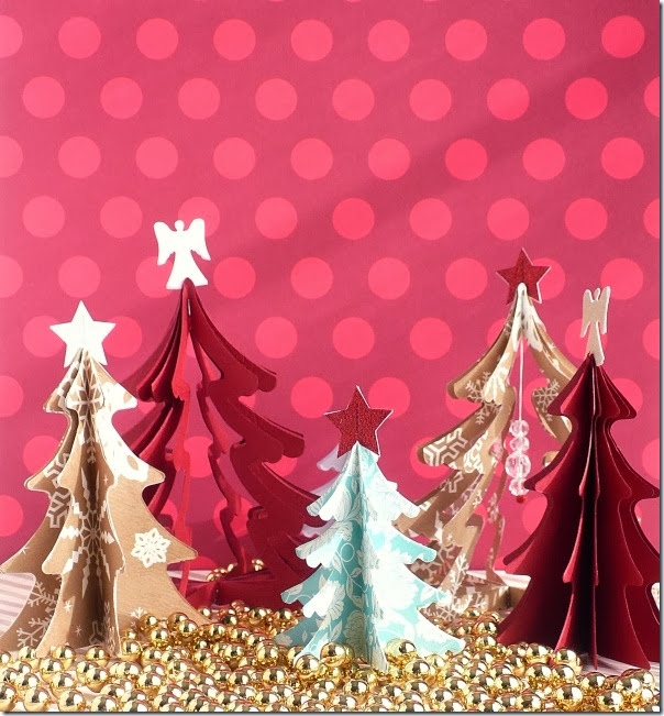 cafe creativo - sizzix big shot - christmas tree - holiday (1)