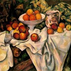 Paul Cezanne (1899): Naturaleza muerta con Manzanas y Naranjas. Museo de Orsay. París. Postimpresionismo