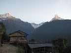 Sunrise in Ghandruk