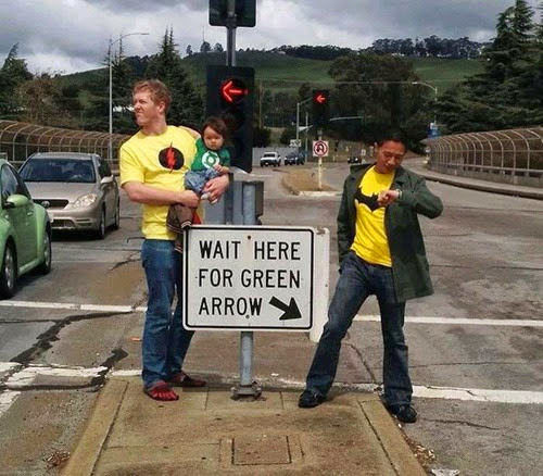 Waiting for Green Arrow... via imgur