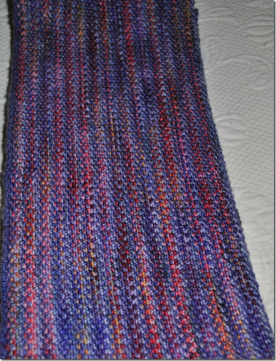 Woven Look Scarf 005
