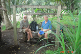 Nick Hughes and Mike Kramer near Gunung Ibu (September 2011)