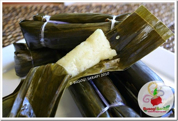 Banana Leaf Wrapped Rice Rice Wrapped in Banana