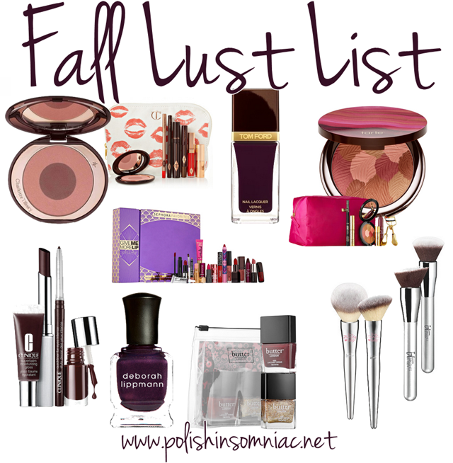 Top 10 Tuesday - My Fall Lust List