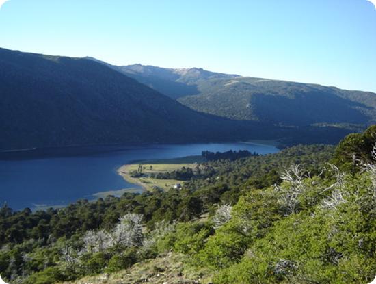 Rucachoroi lago