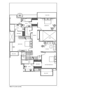 Plano-primer-piso-casa-overhang