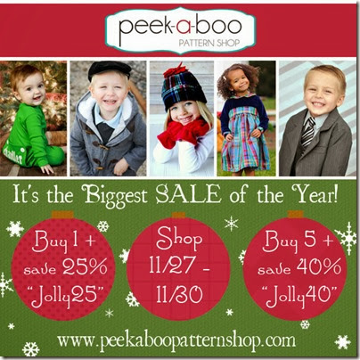 Peek-A-Boo Pattern Sale